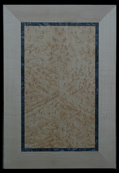 cabinet-door--Blue-Pearl--maple