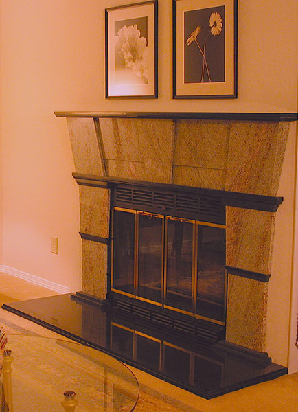 granite-fireplace