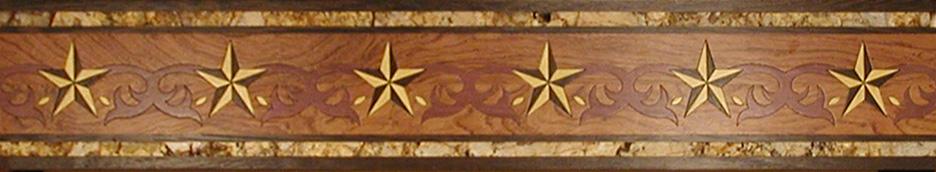 Marble Inlay Borders : Floor border inlays amazon brown