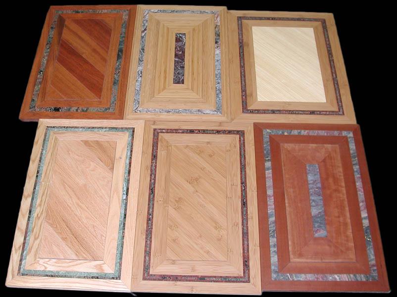 Floor tiles stone bamboo hardwood for Inlaid wood floor designs