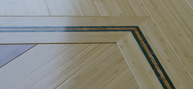 Stone Inlaid Flooring by Seclay