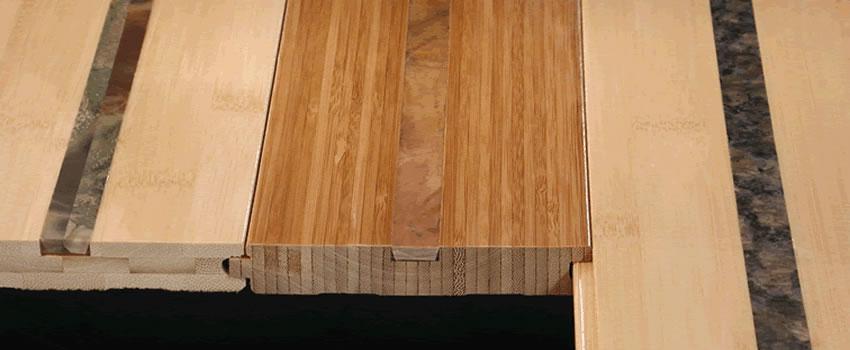 Inlaid Bamboo Floor Samples
