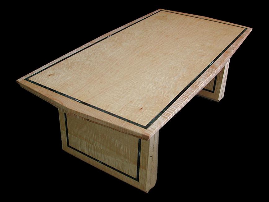 furniture-Curly-Maple-veneers--Verde-Guatemale--Celadon