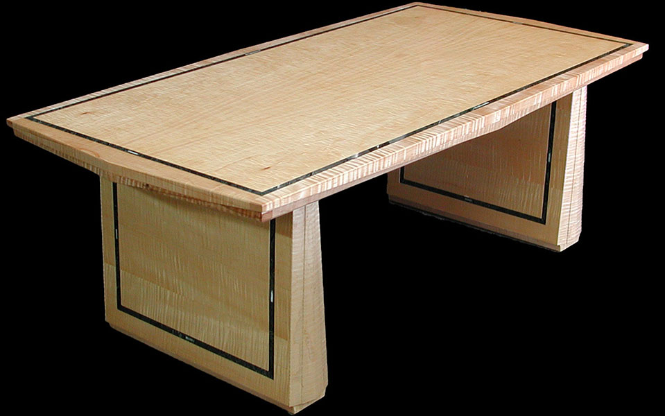 furniture-table--Curly-Maple--Celadon--Verde-Guatemala