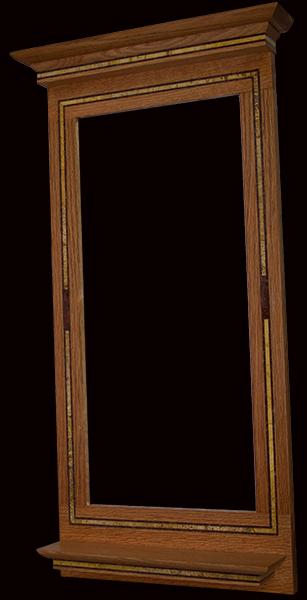 furniture-Guarino--mirror-frame--Ruby-Red--Sahara-Gold